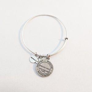 Alex and Ani Jewelry - Alex and Ani Silver Endless Knot Charm Bracelet
